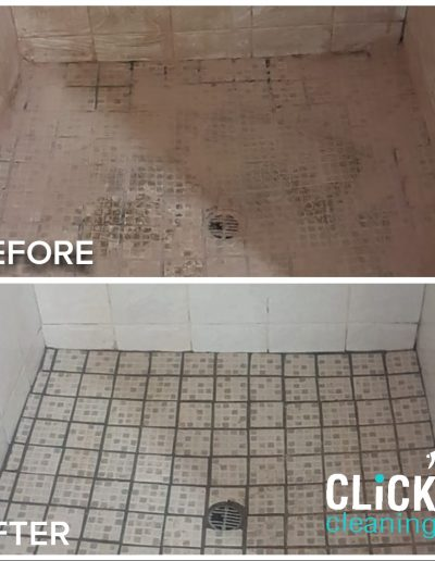 Shower Tile Deep Cleaning